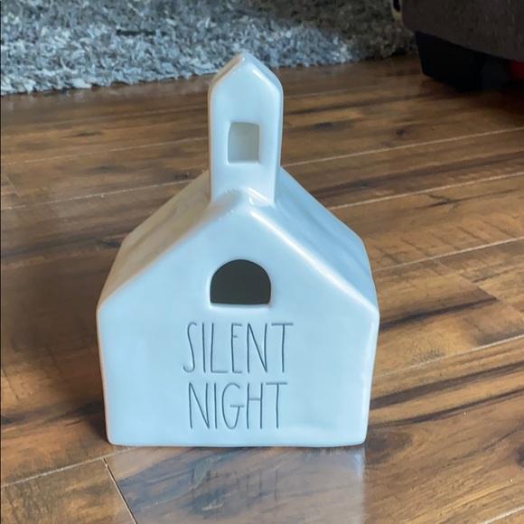 Rae Dunn silent night decorative church